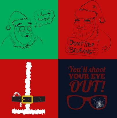 lol christmas tshirts