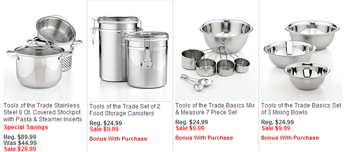 macys tools of the trade sale items
