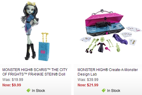 monster high mattel sale