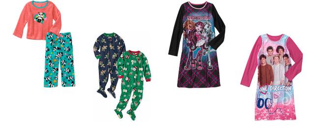 more walmart pajamas