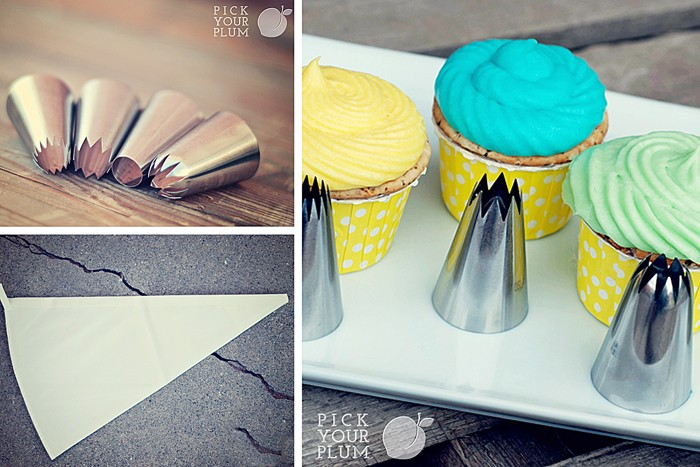 pastry Bags and Frosting tips