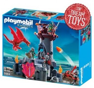 playmobile dragon knight action set