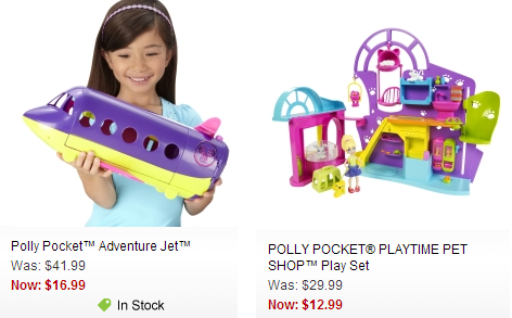 polly pocket mattel clearance sale