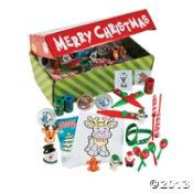 santas toy box assortment