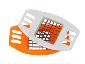 stainless steel french fry cutter 300x227 Stainless Steel French Fry Cutter for $1.99 Shipped!