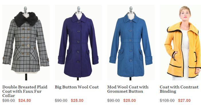 tulle coat deals