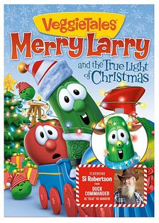 veggie tales merry larry and the true light of christmas