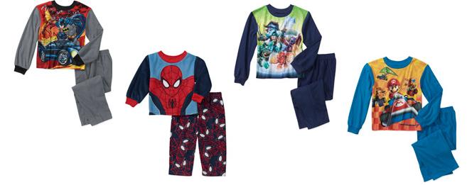walmart boys pajamas