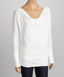 zulily cold spell long sleeve top