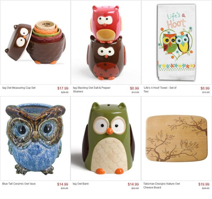 What A Hoot Owl Gift Ideas At Zulily Utah Sweet Savings