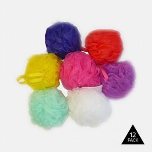 12 Pack Colgate Palmolive Body Wash & Bath Sponges