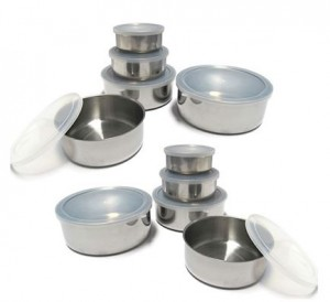 20 piece mixing bowl set