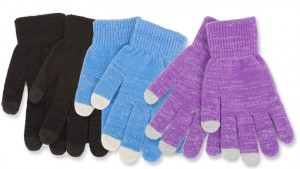 3 pack texting gloves