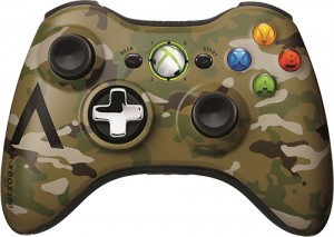 Camouflage Wireless Controller for Xbox 360