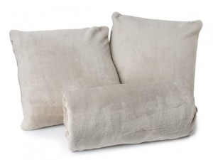Cozy Throw and 2-Piece Pillow Set - 8 Colors