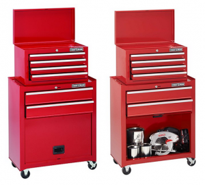 Craftsman 6 Drawer Homeowner Tool Center with Bulk Storage Panel Door 300x270 Craftsman 6 Drawer Homeowner Tool Center with Bulk Storage Panel Door for $96.99 (Reg $149.99)!