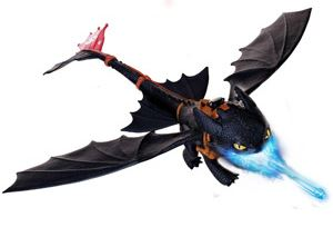 DreamWorks Dragons - Giant Fire Breathing Toothless