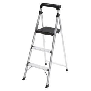 Easy Reach Gorilla Ladders Aluminum 3-Step Ultra Light Step Stool