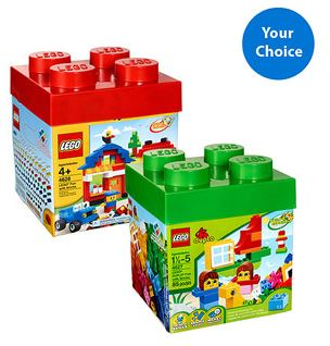 LEGO 600pc Building Kit or LEGO Duplo 85pc Building Kit *HOT* LEGO 600pc Building Kit or LEGO Duplo 85pc Building Kit for $20!