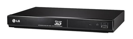 LG - Smart 3D Wi-Fi Built-In Blu-ray Player