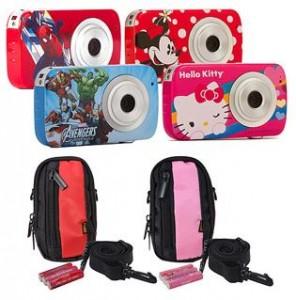 Sakar Kids' Digital Camera with Case and Batteries Value Gift Bundle