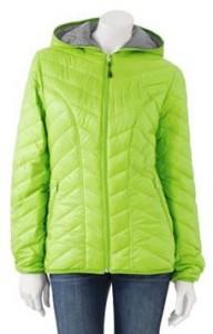 Tek Gear Hooded Packable Puffer Jacket