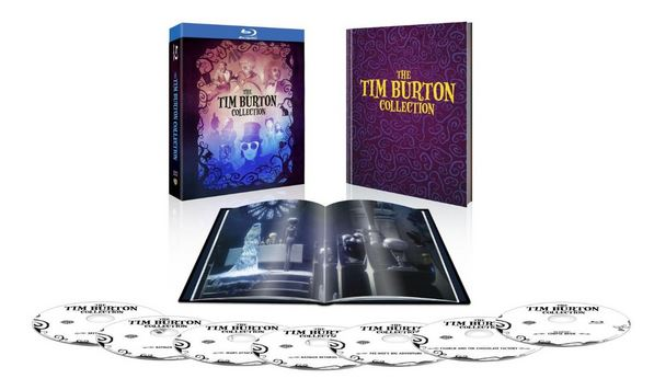The Tim Burton Collection with Book