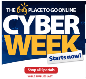 Walmart Cyber Monday Now
