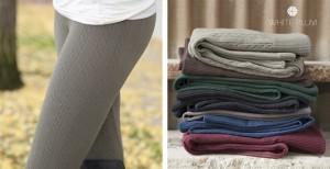 cabil knit fleece leggings