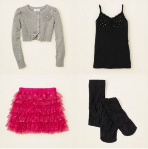 childrens place girls outfit