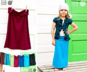 girls maxi skirts