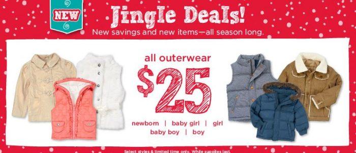 gymboree $25 kids outerwear