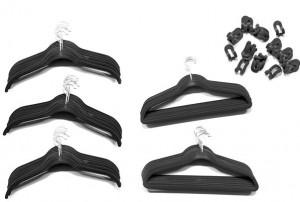 80-Piece Velvet Hanger Set