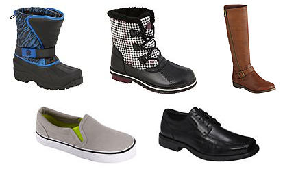 Kmart: Buy 1, Get 1 50% off Shoes & Boots For The Family