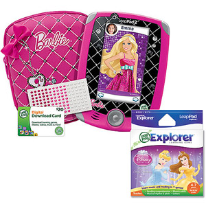 leapfrog leappad2 explorer totally barbie bundle