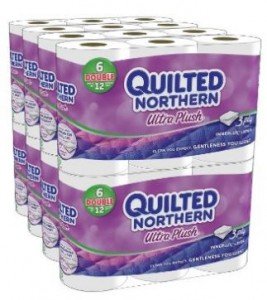 quilted northern ultra plush double rolls 48 ct