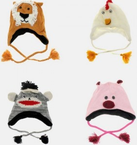 tanga animal hats