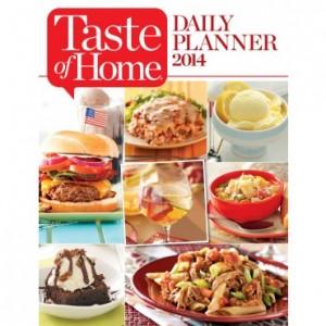 taste of home daily planner 2014