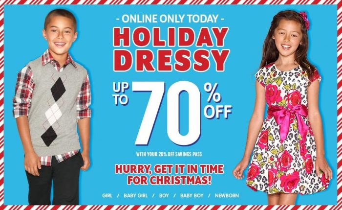 the childrens place holiday dress sale