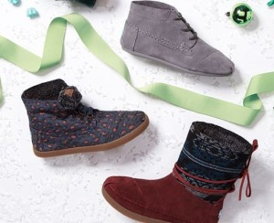 toms shoes holiday