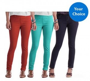 womens colored jeggings faded glory
