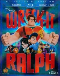 wreck it ralph blu-ray combo pack