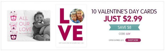 10 personalized valentines card ink garden