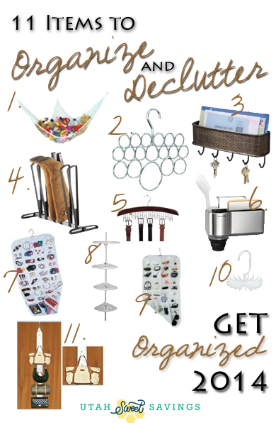11 items to organize & declutter your home! – utah sweet savings