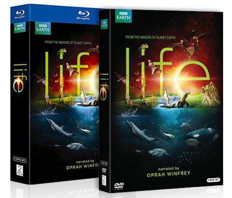 BBC Life 4-Disc Blu-Ray or DVD Miniseries