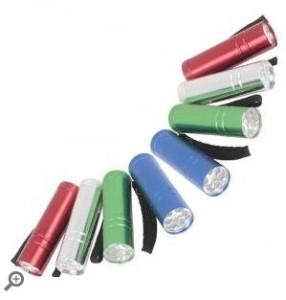 Defiant LED Aluminum Flashlight Combo (8-Pack)