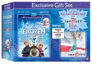 Frozen (Blu-ray + DVD + Digital HD + Infinity Elsa)
