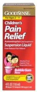 Good Sense Acetaminophen Childrens Pain Reliever 121x300 Good Sense Acetaminophen Childrens Pain Reliever for $2.30   $2.74 Shipped!