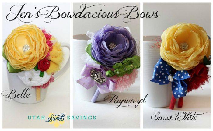 Jen's Bowdacous Bows Princesses