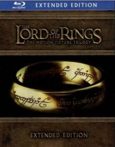Lord of the Rings extended edition trilogy